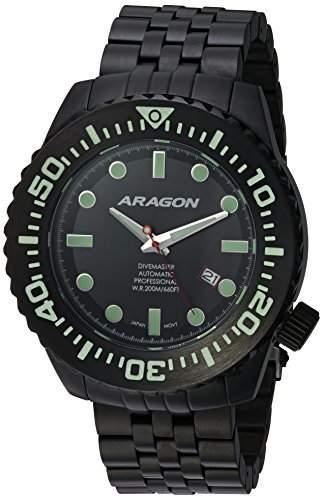 evo ARAGON A253BLK Divemaster 50mm Automatic