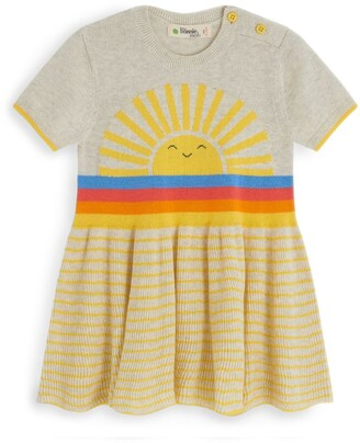 The Bonnie Mob Rainbow Sunshine Knit Dress (6-24 Months)