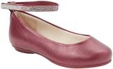 Pampili Purple Ankle-Strap Ballet Flat