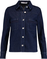 See by Chloe Embroidered denim jacket