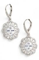 Nina Women's Vintage Drop Crystal Earrings