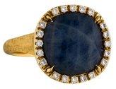 Marco Bicego 18K Sapphire & Diamond Cocktail Ring