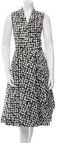 Pauw Sleeveless Textured Wrap Dress