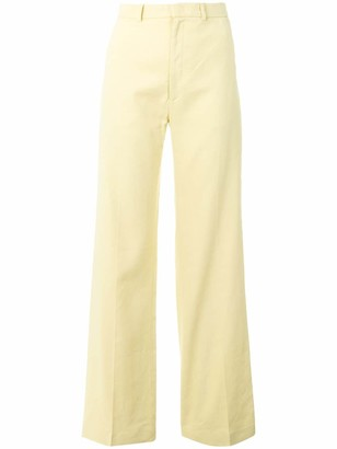 Joseph Flared High-Waisted Trousers
