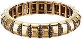 Kate Spade Sliced Scallops Pave Stretch Bracelet (Clear/Rose Gold) Bracelet