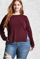 Forever 21 FOREVER 21+ Plus Size Vented Sweater