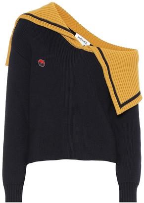 Monse One-shoulder wool sweater