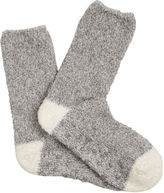"""Oasis HEART COSY SOCK [span class=""""variation_color_heading""""]- Mid Grey[/span]"""