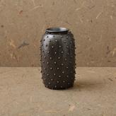 Kelly Wearstler Studded Vase - Gunmetal