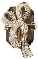 Banana Republic Jeweled Present Brooch