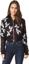 Self-Portrait Self Portrait Lace Bomber Jacket