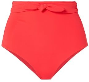 Mara Hoffman Jay Knotted High-rise Bikini Briefs