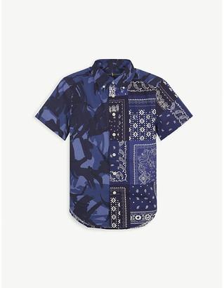Ralph Lauren Bandana print cotton short-sleeved shirt 7-11 years