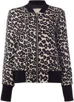 InWear Animal print bomber jacket
