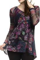 Lynn Ritchie Mixed Print Tunic