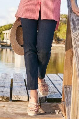 Women Super Stretch Lattice Ankle Pants