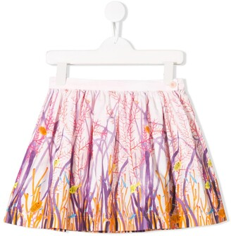 Il Gufo Pink Coral Skirt