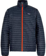 Patagonia Quilted Dwr-coated Ripstop Shell Down Jacket - Midnight blue