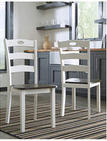 Signature Design by Ashley Set of 2 Woodanville Dining Side Chairs