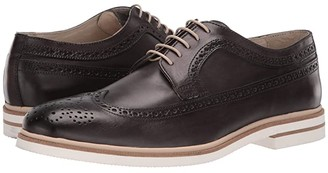 Kenneth Cole New York Vertical Lace-Up (Grey) Men's Shoes