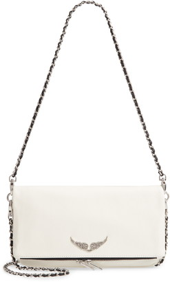 Zadig & Voltaire Rock Leather Convertible Clutch