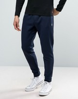 Polo Ralph Lauren Slim Fit Cuffed Jogger In Navy