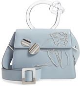 Benedetta Bruzziches Big Brigitta Sleeping Beauty Leather Top Handle Satchel