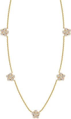 Ariana Rabbani 14K 0.18 Ct. Tw. Diamond Flower Necklace