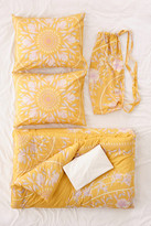 Urban Outfitters Iris Sketched Floral Comforter Snooze Set