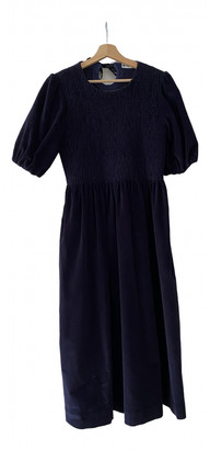 Molly Goddard Blue Cotton Dresses