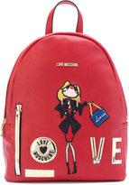 Love Moschino love backpack - women - Polyurethane - One Size