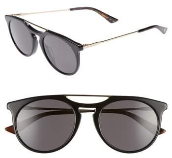 Gucci Light Combi 53mm Sunglasses