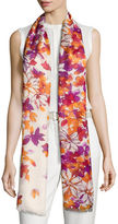 Loro Piana Bohemian Flowers Cashmere & Silk Stole