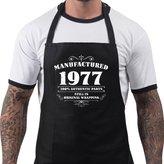BANG TIDY CLOTHING Men's 40th Birthday Gift Apron Manufactured 1977 Aprons 40th Birthday Gifts