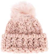 Federica Moretti knitted pom pom beanie