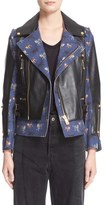 Undercover Women's Leather & Wool Moto Jacket