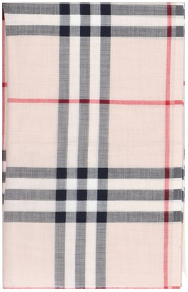 Burberry Lightweight Check Print Scarf