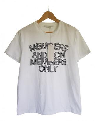 Stella McCartney White Cotton T-shirts