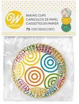 Wilton Swirls Arrow Standard Baking Cups - 75ct