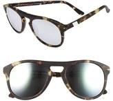 Westward Leaning Women's 'Galileo' 53Mm Sunglasses - Tokyo Tortoise Matte/ Silver