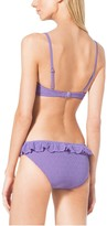 Michael Kors Eyelet-Embroidered Ruffled Bikini