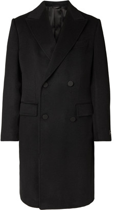 Ermenegildo Zegna Double-Breasted Cashmere Coat