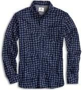 Sperry Fish Net Button Down Shirt