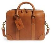 Polo Ralph Lauren Men's Leather Briefcase - Brown