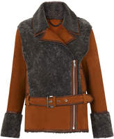 Whistles Irena Sheepskin Flying Jacket