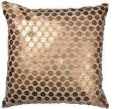 A&B Home 22 x 22 Dashiell Beaded Pillow - Copper