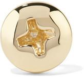 Alison Lou Screw Head 14-karat Gold Earring - one size