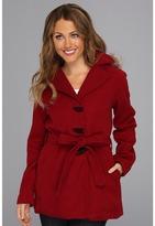 Dollhouse Wool Blanket Coat (Ox Blood) - Apparel