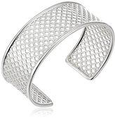 "Zina Sterling Silver ""Trellis"" Cuff Bracelet, 2.2"""