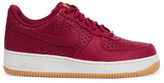 Nike Air Force 1 Perforated Leather Sneakers - Red